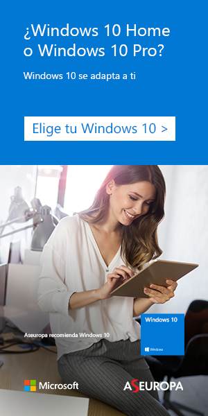 ¿Windows 10 Home o Windows 10 Pro?